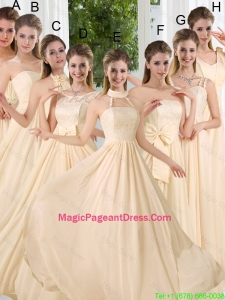 Empire Ruching 2016 Floor Length Pageant Dress