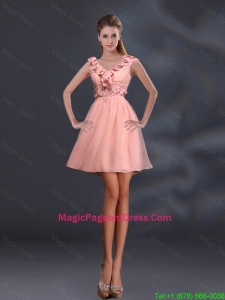 2016 Pretty Appliques and Ruffles A Line Pageant Dresses