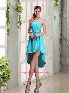 2016 Decent Sweetheart A Line Pageant Dress with Ruching and Belt