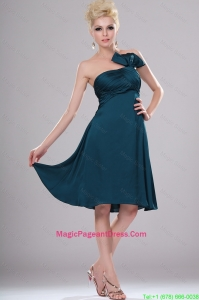 Elegant Short Strapless Pageant Dresses with Ruching