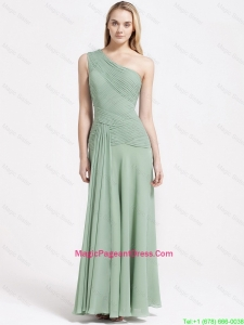 Most Popular Beading Elastic Woven Satin Pageant Dresses with Brush Train