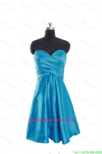 Discount Sweetheart Short Pageant Dresses with Ruching for 2016
