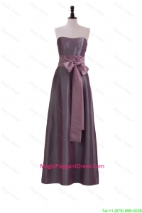 Brand New Sweetheart Belt and Bowknot Pageant Dresses in Brown