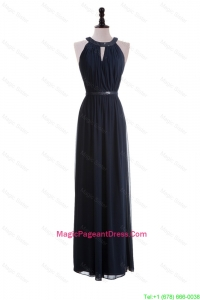 2016 Custom Made Empire Halter Top Pageant Dresses with Belt