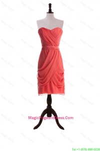Most Popular Short Pageant Dresses with Belt and Ruching