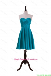 Most Popular Ruching Short Pageant Dresses in Teal