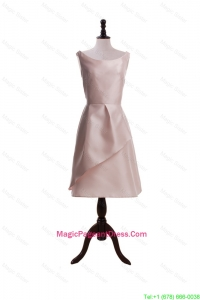 2016 Romantic Light Pink Short Pageant Dresses with Ruching