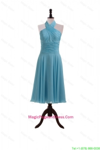 Gorgeous 2016 Summer Baby Blue Pageant Dresses with Ruching