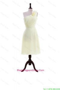 Most Popular Light Yellow Pageant Dresses with Hand Made Flowers