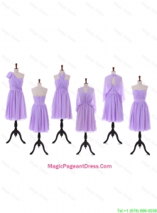 2016 Teenage Empire Pageant Dresses with Ruching in Lavender