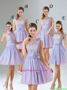 2016 Spring A Line Mini Length Pageant Dresses in Lavender
