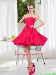 Custom Made A Line Sweetheart Pageant Dress in Chiffon