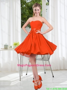 Custom Made Sweetheart Short Pageant Dress with Belt