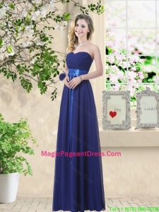 Discount Sweetheart Floor Length Pageant Dresses with Sash