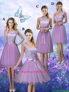 New Style Appliques Tulle Pageant Dresses with Knee Length