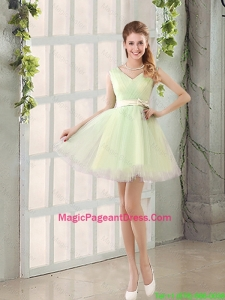 2016 Fall A Line Strapless Short Pageant Dresses with Ruching