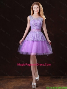 Luxurious Scoop Pageant Dresses with Appliques and Belt