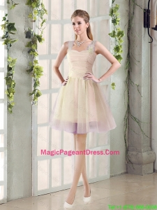 2016 Fall New A Line Straps Pageant Dresses