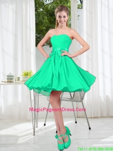 A Line Sweetheart Belt Pageant Dresses for Party