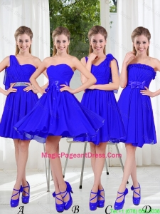Elegant A Line Sweetheart Pageant Dresses in Royal Blue