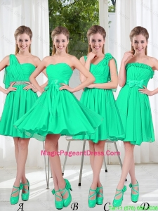 Turquoise Short Pageant Dresses in Fall