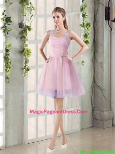 2016 Fall New A Line Straps Pageant Dresses with Hand Made Flowers