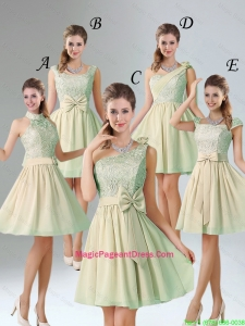 Custom Made A Line Lace Pageant Dresses with Hand Made Flower