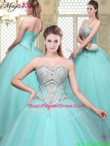 2016 Modest Sweetheart BeadingPageant Dresses for Summer