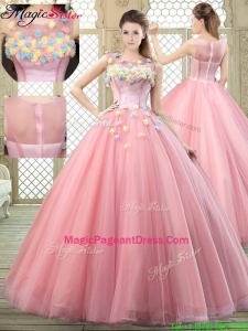 2016 New Style Scoop Pageant Dresses with Zipper Up