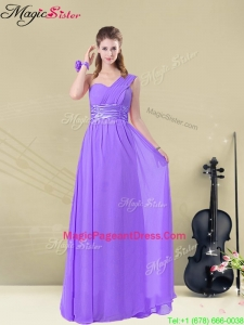 Lovely Empire Floor Length Pageant Dresses for Fall