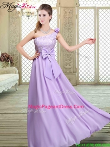 2016 Spring Amazing High Neck Lace Lavender Pageant Dresses