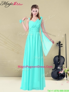 Best Floor Length Pageant Dresses in Apple Green