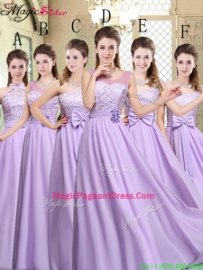 Exquisite Empire Lavender 2016 Pageant Dresses