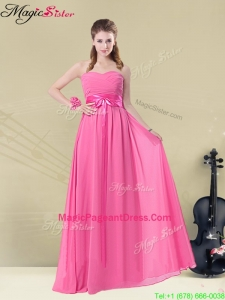Perfect Sweetheart Pageant Dresses with Ruching and Belt