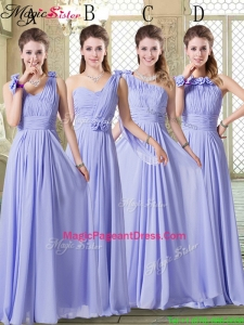 Pretty Empire Floor Length Best Pageant Dresses in Lavender