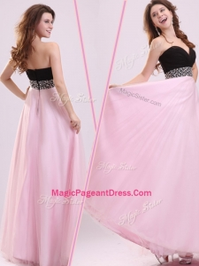 Cheap Empire Sweetheart Beading Classical Pageant Dresses in Baby Pink