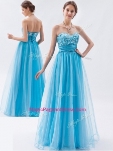 Classical Empire Sweetheart Beading Natural Pageant Dresses for Pageant
