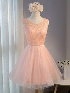 Best Selling Zipper Pageant Dress Wholesale Peach for Prom and Party and Sweet 16 with Beading and Belt