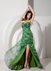Elegant Sweetheart Beaded Pageant Dresses for Miss USA with Brush Train