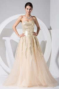 Dressy Sweetheart Zipper-up Tulle Pageant Dress with Sequins in Honolulu