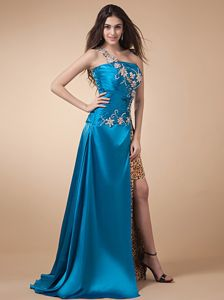 High Silt Appliqued and Ruched Dresses for Pageants In Nj in Bucaramanga