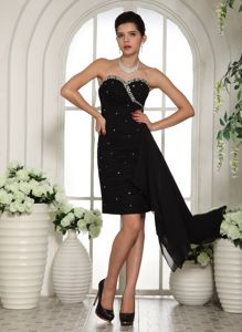 Sweetheart Mini-length Miss Universe Pageant Dress From Valle del Cauca