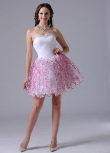 A-line Sweetheart Beaded Glitz Pageant Dresses with Ruffles in Claypool