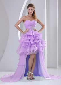 High-low Sweetheart Ruffled Pageant Dresses for Girls From Foothill Ranch
