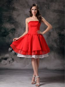 A-line Strapless Knee-length Interview Pageant Suits From Fields Landing