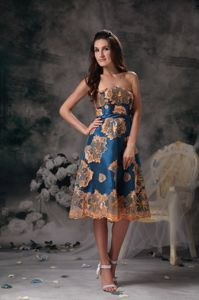 Colorful A-line Strapless Pageant Girl Dresses with Appliques in Fiddletown