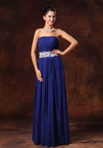 Appliqued Dresses For Pageants In Nj with Lace Up Back in Blue in Waldorf