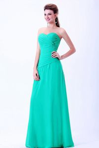 Turquoise Sweetheart Interview Pageant Suits with Ruches in Des Moines