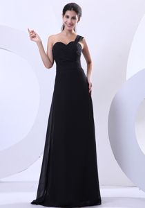 Black Chiffon Floor-length 2013 Dresses For Pageants In Nj in Orlando