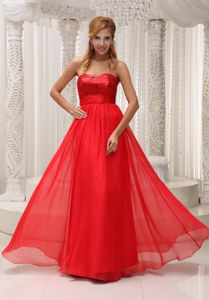 Sequined Sweetheart Dresses For Pageants In Nj in Chiffon in Delmas